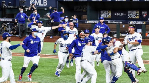 The Los Angeles Dodgers beat the Tampa Bay Rays to win the 2020 World Series. – Photo by Los Angeles Dodgers / Twitter