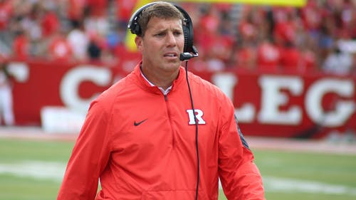 Growing up an hour south of Iowa City, Rutgers head football coach Chris Ash was a fan of Iowa football during his childhood. – Photo by Dimitri Rodriguez