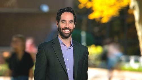 Daniel C. Semenza, an assistant professor in the Department of Sociology, Anthropology and Criminal Justice at Rutgers—Camden, said it is difficult for people in prisons and jails to effectively social distance.  – Photo by Rutgers.edu