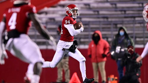 Senior punter Adam Korsak was 1 of 2 Knights who earned accolades after Rutgers' win over Temple. – Photo by Ben Solomon / Scarletknights.com