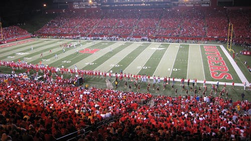 Rutgers upset South Florida 30-27 in front of its home fans back in 2007. – Photo by Wikimedia