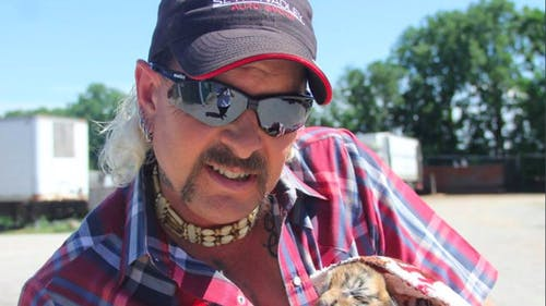 """""""Tiger King: Murder, Mayhem and Madness"""" is a docuseries about Joe Exotic and other large cat owners, was released on March 20. – Photo by Twitter"""