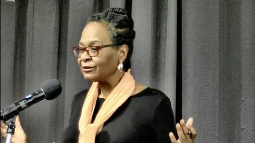 Rutgers Board of Governors and Zora Neale Hurston Professor of English Cheryl Wall focused her scholarship on Black women writers.