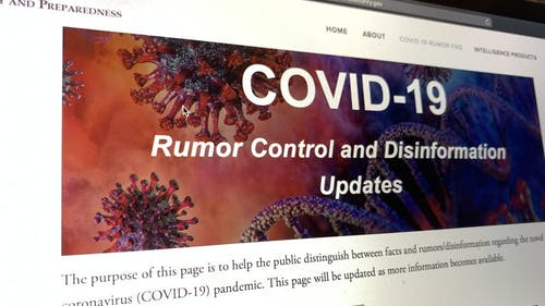 The New Jersey Office of Homeland Security and Preparedness (NJOHSP) has developed a webpage for residents to stay updated on disinformation, rumors and scams due to the coronavirus disease (COVID-19) pandemic. – Photo by Kelly Carmack