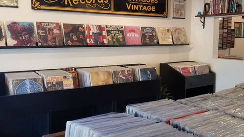 Andrew Spina, owner of Spina Records, said he was forced to reduce the store's hours of operation in order to afford staying open during the pandemic. – Photo by Spina Records