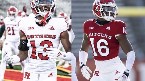 Rutgers football players Chris Long and Max Melton, both School of Arts and Sciences sophomores, were charged with aggravated assault and possession of a weapon for unlawful purpose following the incident. – Photo by Ben Solomon / Scarletknights.com