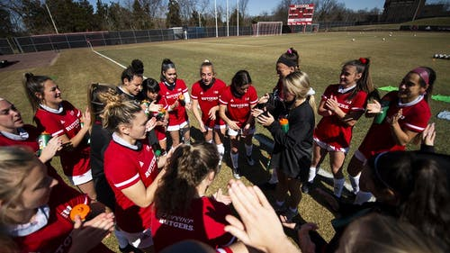The Rutgers women's soccer team saw its Big Ten Tournament run end last night, losing in the semifinals 2-1 to Wisconsin.  – Photo by Scarletknights.com