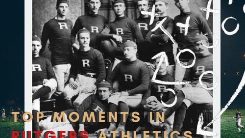 After Rutgers defeated Princeton in the first collegiate game on Nov. 6, 1869, college football went on to become one of the most popular sports in the United States. – Photo by The Daily Targum
