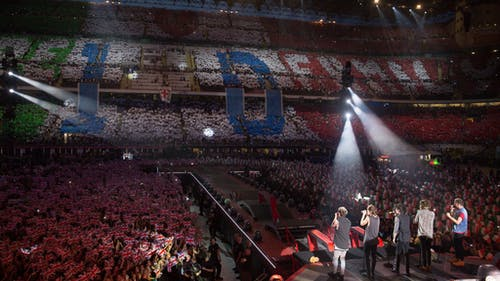 Bands like One Direction leave a lasting impact on their fans, who grow up to love the band even years after they break up.  – Photo by One Direction / Twitter