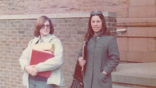 Melanie Willoughby was the first female president of the Rutgers student government.