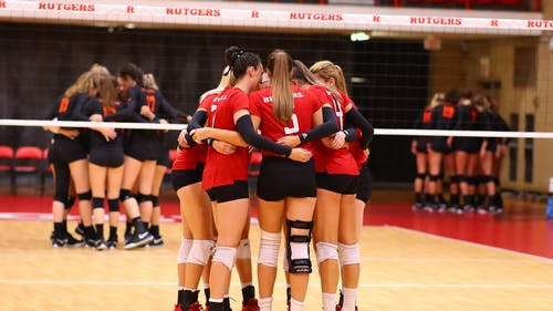 The Rutgers volleyball team's .099 hitting percentage ranks 10th in the Big Ten. – Photo by Rutgers Volleyball / Twitter
