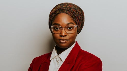 Mauree Turner is making history. They are the first non-binary, Muslim Black person elected, making huge strides in their district in Oklahoma.  – Photo by TIME / Twitter
