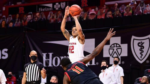 Senior guard Jacob Young will be transferring to the University of Oregon for the 2021-2022 basketball season. – Photo by Scarletknights.com