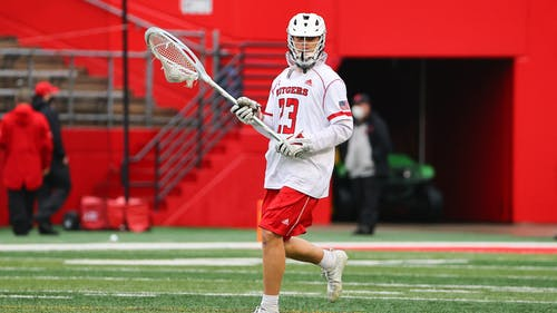 Graduate student goalkeeper Colin Kirst will continue his starting streak as the Rutgers men's lacrosse team faces Michigan in its regular season finale. – Photo by Scarletknights.com