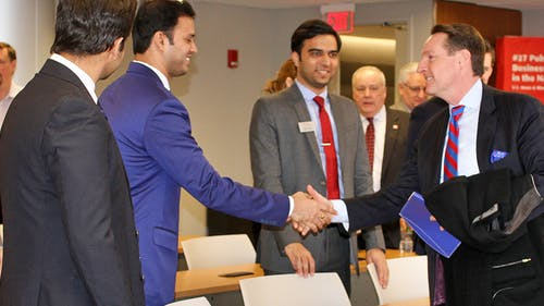 Rutgers Business School offers an online graduate program in supply chain management. With the University's recent partnership, those who graduated from the MBA now have an accelerated way to work in supply chain in Canada. – Photo by Photo by Rutgers.edu | The Daily Targum