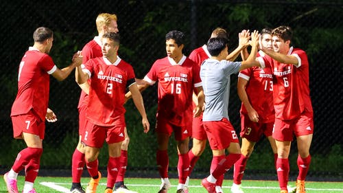The Rutgers men's soccer team remains undefeated with its win over St. Joseph's. – Photo by Rutgers Men's Soccer / Twitter