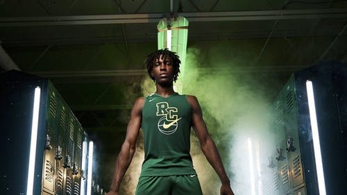 Center Cliff Omoruyi is the program's highest-rated recruit since 2008. – Photo by Photo by Twitter | The Daily Targum