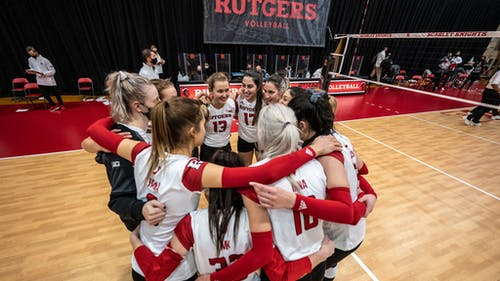 The Rutgers volleyball team is heading into Big Ten play with an overall record of 8-3. – Photo by Ben Solomon / Scarletknights.com
