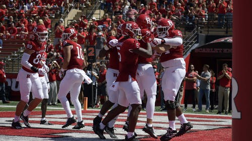 The Rutgers football team will look for its second win when it faces Syracuse this weekend. – Photo by Emma Garibian