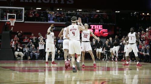 The Rutgers men's basketball team is set to begin Big Ten conference play on Dec. 14. – Photo by The Daily Targum
