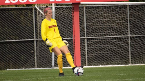 Senior goalkeeper Meagan McClelland looks to continue her impressive season as the Rutgers women's soccer team faces Maryland in Big Ten action. – Photo by Olivia Thiel
