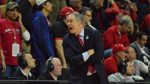 Head men's basketball coach Steve Pikiell was honored as the Jim Phelan National Coach of the Year on Tuesday. – Photo by Photo by Curstine Guevarra | The Daily Targum