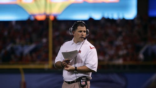 Greg Schiano, the University's former football head coach, needs to be recommended by a four-person athletics committee to be approved for rehire. – Photo by The Daily Targum