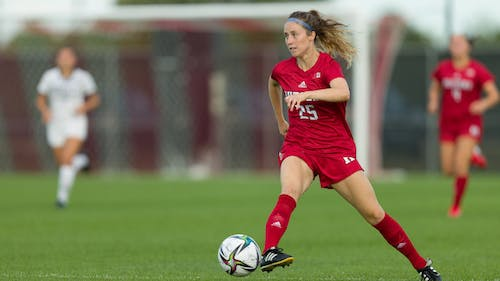 Sophomore midfielder Sara Brocious has scored 3 goals in 4 games for Rutgers this season.  – Photo by Scarletknights.com