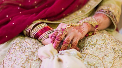 Marriage, and specifically weddings, look different globally. In many traditions, like those of Pakistani, Indian and Arab cultures, putting on henna is the norm. – Photo by needpix