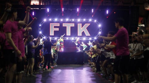 The closing ceremonies announced that the dance marathon raised more than $1 million this year. The Greek Multicultural Club that raised the most money was Delta Epison Psi and the student organization that raised the most was RUSA, at $8258.41 and $11,097.43, respectively.