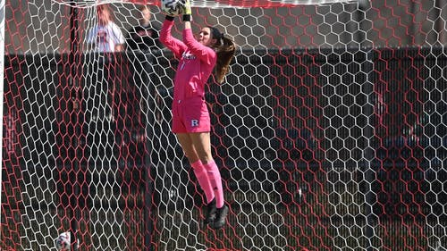 Junior goalkeeper Meagan McClelland recorded a shutout as the Rutgers women's soccer team took part in a scoreless draw against Nebraska.  – Photo by Scarletknights.com