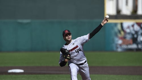 Graduate student pitcher Ben Wereski will try to follow up his seven scoreless innings in his last start as the Rutgers baseball team faces Purdue in a weekend series.  – Photo by Rutgers Baseball / Twitter
