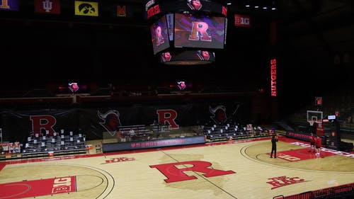 Joe Boylan, a former Rutgers basketball coach and longtime color commentator for the Scarlet Knights, spent approximately 50 years working with Rutgers Athletics.  – Photo by Kelly Carmack / Photo Editor