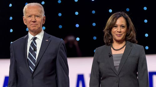 Former Vice President Joe Biden is projected to be the 46th president of the U.S., with Sen. Kamala Harris (D-Calif.) to be the first woman and woman of color as vice president.  – Photo by Twitter