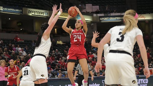 Fifth-year senior Arella Guirantes has been named to the Ann Meyers Drysdale Shooting Guard Award Top 10 Watch List. – Photo by Arella Guirantes / Twitter