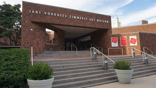 The Zimmerli Art Museum is open once again for in-person activities. – Photo by Matan Dubnikov