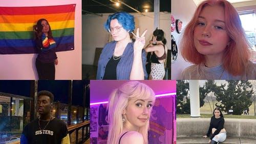 Rutgers students shared their thoughts on the significance of Pride month and what celebrating it means to them.  – Photo by Courtesy of Juliana Guerino, Kirsten Bennett, Nellie Mouton, Rakeem Shabazz, Taylor Crabtree, and Michelle Tsinker