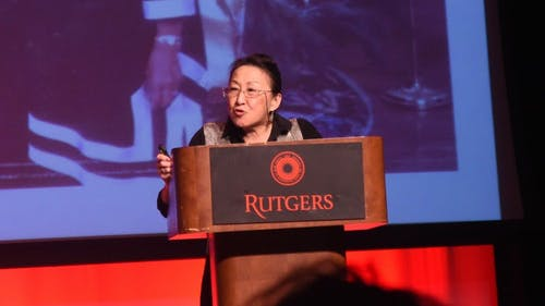 Cathy Bao-Bean, a popular author, spoke at last year's Mark Conference. This year's conference will take place on March 5. – Photo by Michelle Klejmont