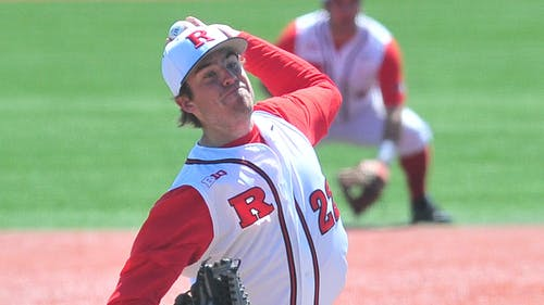Senior pitcher Howie Brey will start for Rutgers on Saturday. In his first start Brey allowed three runs over six innings of work. – Photo by Photo by The Daily Targum | The Daily Targum