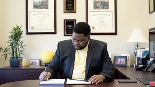 William Jones, interim executive director of Career Exploration and Success, said they have been offering several virtual programs, including career fairs, a mock interview system and a How To series for students to learn about a variety of professional life skills. – Photo by Tahjaun Clarke
