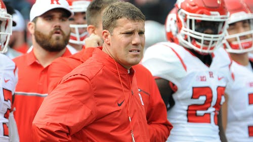 Head coach Chris Ash will face Jim Harbaugh on the field for the first time as a head coach, but they've battled on the recruiting trail in New Jersey throughout eight months of his first offseason in Piscataway. – Photo by Dimitri Rodriguez