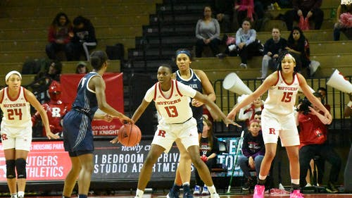 The Rutgers women's basketball team is set to play its first game since Jan. 3 when they face off against Indiana on Thursday. – Photo by The Daily Targum