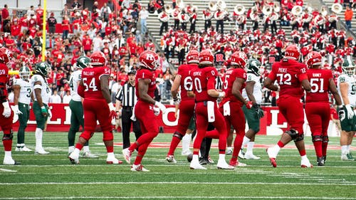 The Rutgers football team fell to Michigan State 31-13, losing its third straight game after winning three to start the season.  – Photo by Emma Garibian