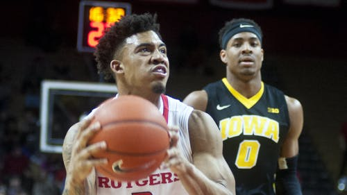 Sophomore guard Corey Sanders led Rutgers in scoring in its last meeting with Northwestern, a 69-60 loss at the Rutgers Athletic Center last month. – Photo by Photo by Jeffrey Gomez   The Daily Targum