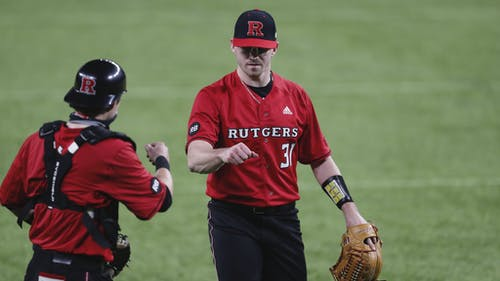 Graduate student pitcher Brent Teller looks to keep his good season going as the Rutgers baseball team faces Nebraska this weekend.  – Photo by Rutgers Baseball / Twitter