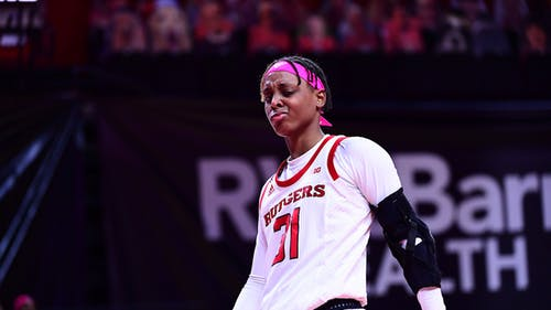 Senior forward Tekia Mack provided 12 points and eight rebounds as the Rutgers women's basketball team defeated Minnesota, extending their winning streak to four games. – Photo by Rutgers Athletics / Twitter