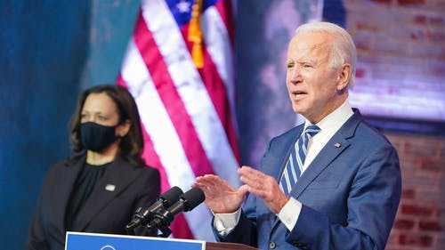 President-elect Joe Biden and Vice President-elect Kamala Harris have an opportunity to confront a growing student debt crisis. By doing so, they will boost the economy in the midst of a deep, painful recession. – Photo by Joe Biden / Twitter
