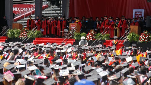 While commencement ceremonies in the spring will be held remotely, University President Jonathan Holloway said he hopes that the University can hold in-person events for the graduates of 2020 and 2021 in the future.  – Photo by The Daily Targum