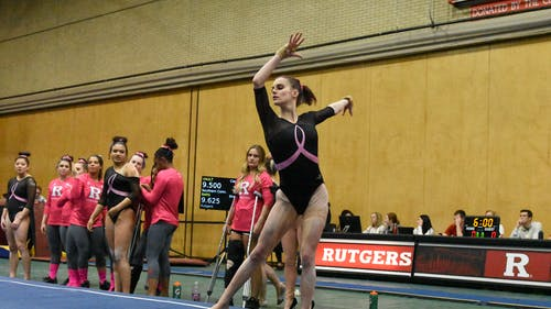The Rutgers women's gymnastics team looks to build upon record-breaking wins in 2020 when they begin their 2021 season on Saturday. – Photo by The Daily Targum
