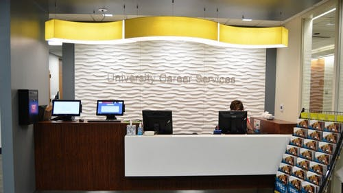 At University Career Services, students can find help bridging connections between their academic experiences and desired career paths — creating new relationships with alumni, employers and graduate schools.
